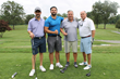 HOW Golf Invitational co-chair Joseph Kahl (second from right) and the Manhattan Beer Distributors foursome