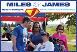 miles for james, head for safety, inte q