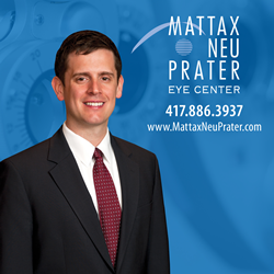 Jacob Thomas, MD, of Mattax Neu Prater Eye Center