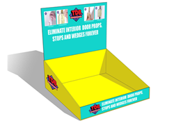 Corrugated Cardboard Counter Displays