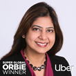 Super Global ORBIE Winner, Shobhana Ahluwalia of Uber