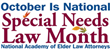 NAELA Celebrates National Special Needs Law Month in October