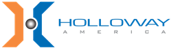 This is the logo for HOLLOWAY AMERICA, a leading manufacturer of pressure vessels, stainless steel tanks, and other equipment.
