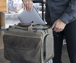 Air Duffel personal item carry-on — smartly-placed pockets keep important items easily accessible