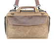 Air Duffel — removable shoulder strap and leather-lined handles offer carry flexibility