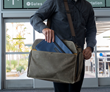 Air Duffel — with optional Air Caddy in front, pleated pocket