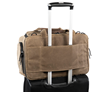 Air Duffel carry-on — rear wheeled-suitcase passthrough