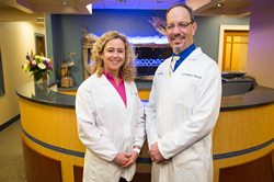 Drs. Marianne Urbanski and Gregory Toback, Periodontists of Shoreline Periodontics, Serving East Lyme, CT, New London, CT, and Westerly, RI