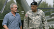 General Russell Honore with President George W. Bush