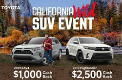 California Wild SUV Event