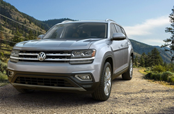 front of 2019 Volkswagen Atlas