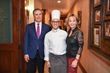 Giorgio and Cathy Borlenghi, Owners of the Hotel Granduca and Chef Maurizio Ferrarese from Ristorante Cavour