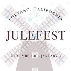 2019 'Solvang Julefest' Holiday Celebration Logo