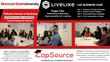 "The ""Real-World"" is the MBA Classroom at Montclair State University thanks to Experiential Learning Partner, CapSource Education"