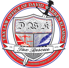 Tax Law Offices of David W. Klasing logo