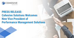 Cohesive Solutions, leading enterprise systems integrator of Enterprise Asset and Performance Management solutions, is excited to welcome their new Vice President of Performance Management Solutions, Matthew Midas, to the company.