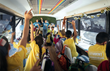 Inside the 'Yes We Can' mobile school in Tijuana, Mexico.