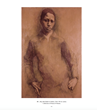 """Young man standing"" by Symeon Shimin"