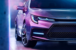 front view of 2020 Toyota Corolla