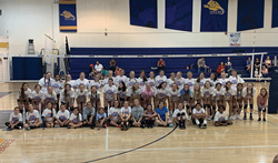 New spring volleyball clinics from Nike Volleyball Camp at Warner University in Lake Wales, Florida