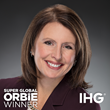 Super Global ORBIE Winner, Laura Miller of IHG