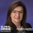 Global ORBIE Winner, Shirl Stroeing of Paradies Lagardère