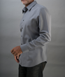 The pocket-less Libertad all Merino wool dress shirt