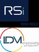 RSi and Logística de México (LDM) Logos