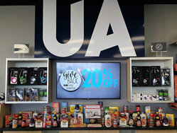 Food drive at UA retail locations
