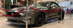 Supercharged 2020 Ford Mustang GT on display at Sherwood Ford