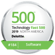"Binary Fountain Named to Deloitte's 2019 ""Technology Fast 500™"" List"