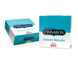 KFC earned top honors and first place in Excellence in New Menu Launch by designing a functional and appealing folding paperboard carton to launch this new product, uniting two well-known brands.