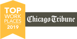 Chicago Tribune Top Workplaces 2019 Award
