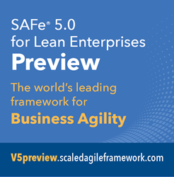 Preview the new version of the world's leading framework for business agility