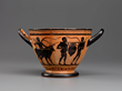 Black-Figure Skyphos (Drinking Cup). Attributed to the Theseus Painter