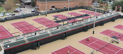 Florida State University tennis courts, home of the Seminole High Performance Winter Camp