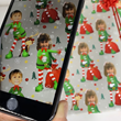 Augmented Reality Giftwrap with Dancing Elf from GiftWrapMyFace.com