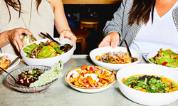 Plant-based cuisine at Wildseed in San Francisco