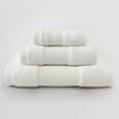 Delilah Home Organic Cotton Towels - White