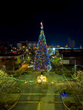 The downtown Corcoran Christmas tree in 2018
