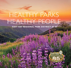 Front cover of East Bay Regional Park District at 85
