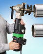 Esco Tool's Prepzilla MILLHOG® I.D. Clamping End Prep Tool Features Powerful New Electric Motor