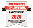 "Latinvex 2020 ""Top Law Firms"""