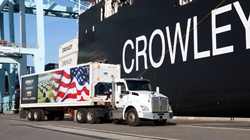 Crowley is a provider of supply chain, energy, technology and expeditionary logistics to government agencies.