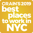 Crain's Best Places to Work NYC