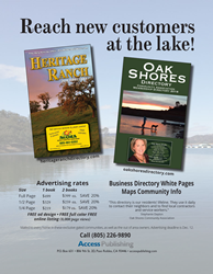 Heritage Ranch and Oak Shores directories