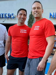 The Walser Law Firm, through its senior partner, Thomas R. Mendez Walser, participated in the Push Up For Pets Challenge on Saturday, November 30th in Wilton Manors.