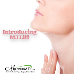 Introducing the M.j. Lift treatment for improving sagging jowls and creating a defined, youthful jawline at MilfordMD.