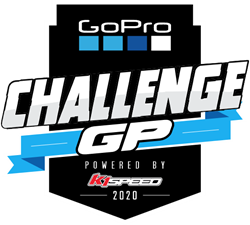 GoPro Challenge GP Powered by K1 Speed logo
