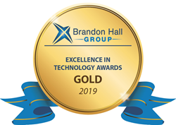 Brandon Hall Group - Unique Learning Technology GOLD Award